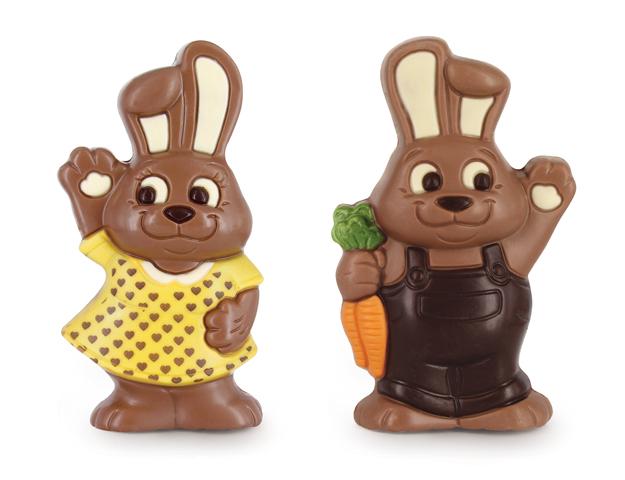 Conejos Sally y Marco