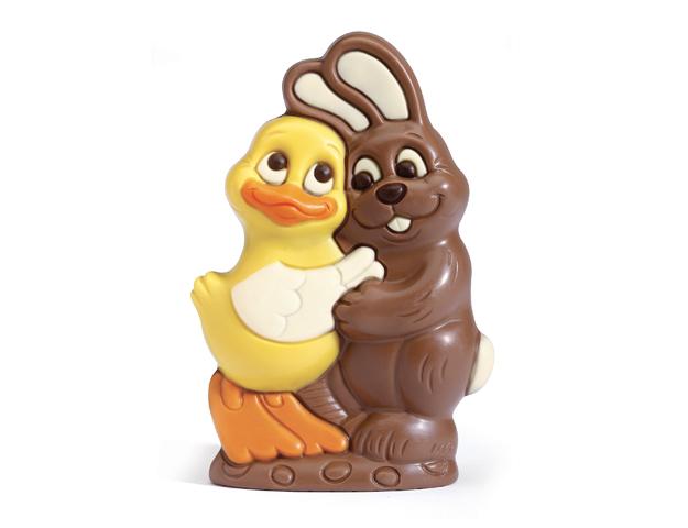 Conejo y pato Amigos