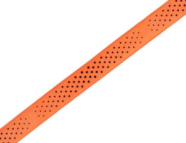 Cinta Neon Dots naranja