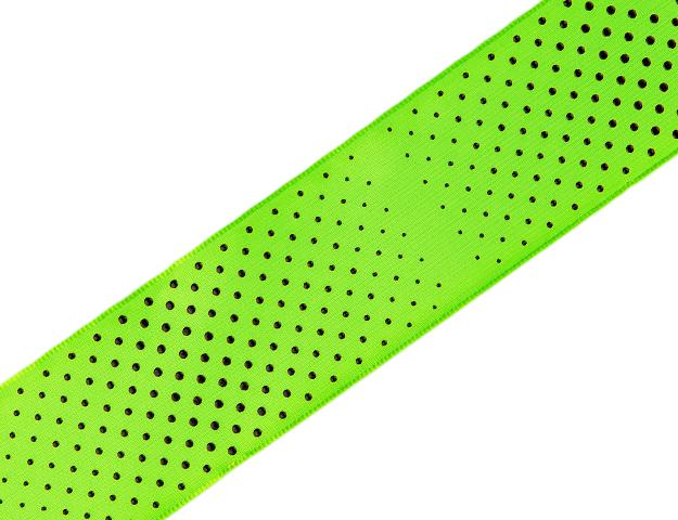 Cinta Neon Dots verde