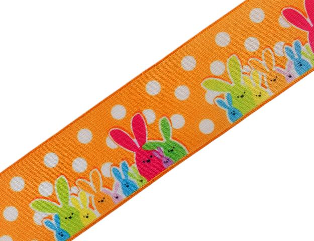 Cinta Bunny family naranja