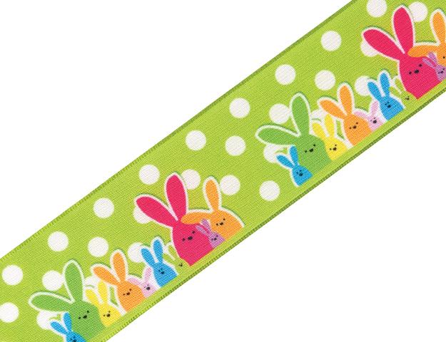 Cinta Bunny family verde