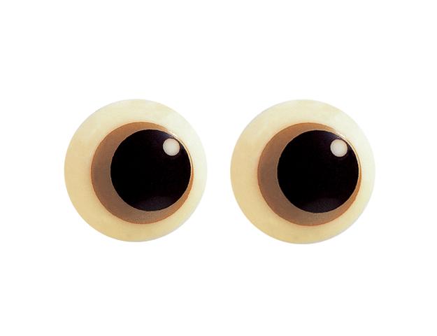 Ojos redondos grandes