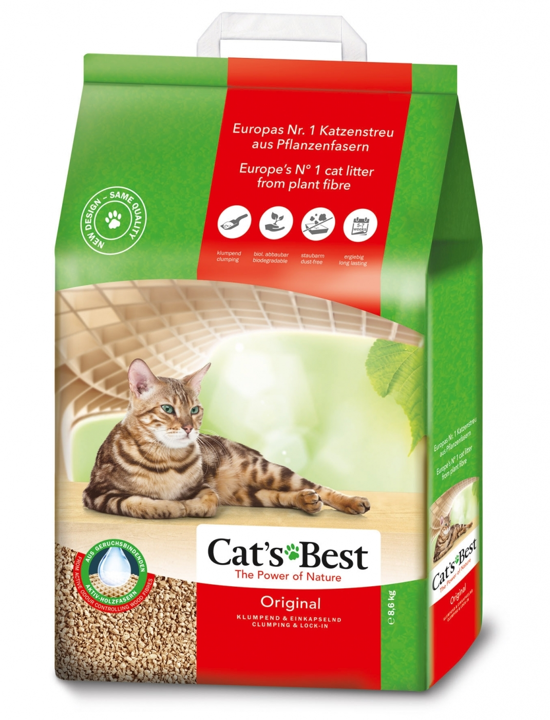 CAT'S BEST ORIGINAL (OKO PLUS) 10 L.4,3 kg