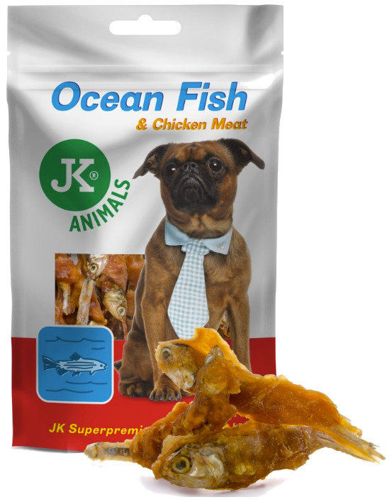 Meat Snacks OCEAN FISH and CHICKEN  80g