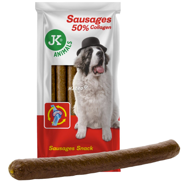 Hungary SAUSAGES with COLLAGEN and BACON 6pcs  850