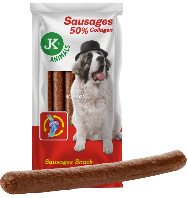 Hungary SAUSAGES with COLLAGEN  6pcs  850g