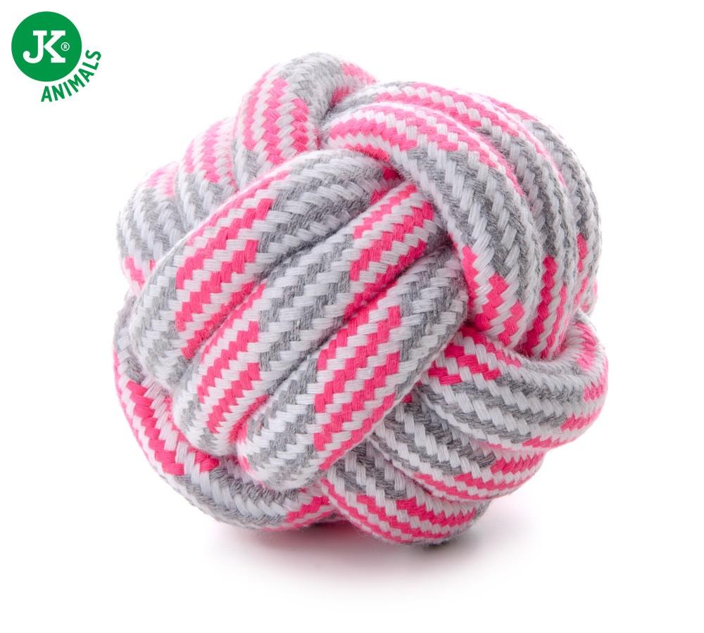 Pelota-Nudo algodon  Rosa