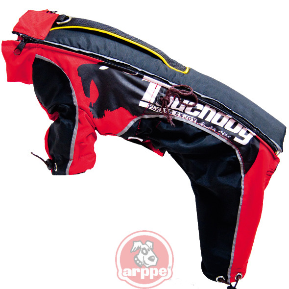 IMPERMEABLE EXTREME MANGAS ROJO