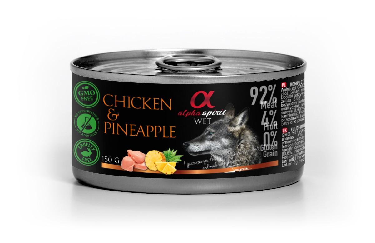 Pollo con Piña 150g