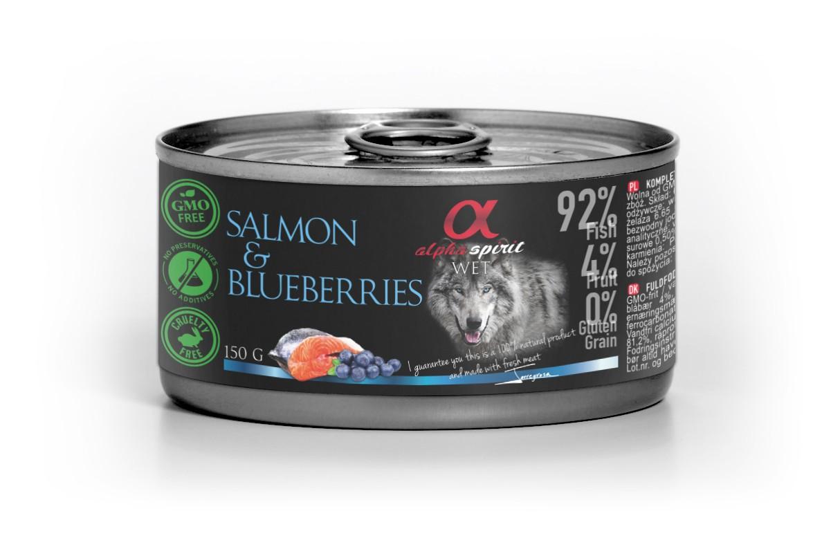 Salmon con Arandanos 150g
