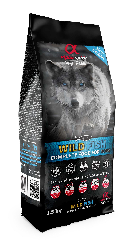 WILD FISH semihumit 1,5kg (sac) -only fish-