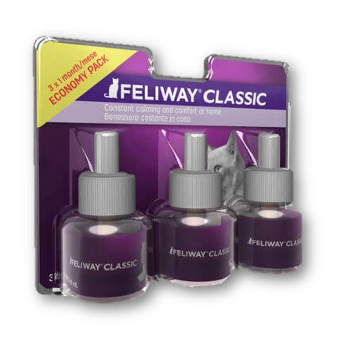 FELIWAY CLASSIC  PACK 3 RECAMBIOS  3 MESES