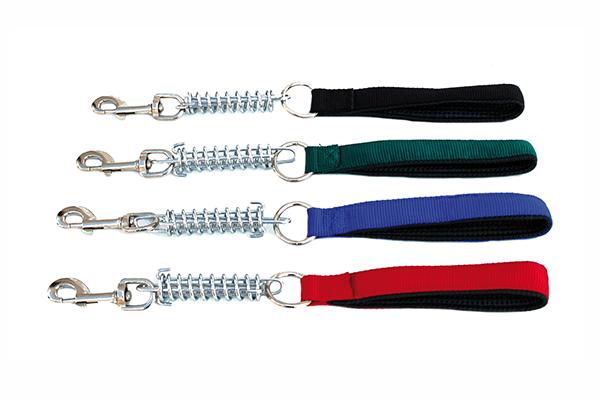 Correa cadena muelle y nylon   25mm x 45cm Colores