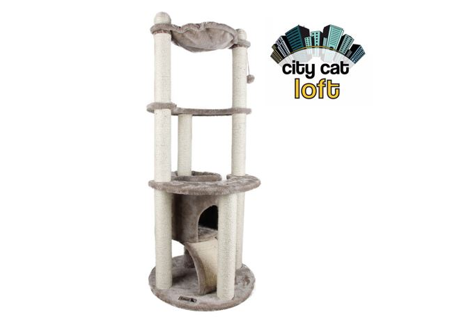 City Cat Loft 55x132cm