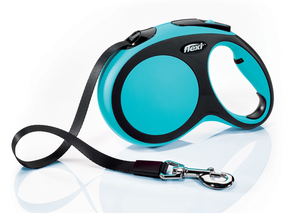 Flexi New Comfort 5m  Azul  T.L  Cinta   <60kg