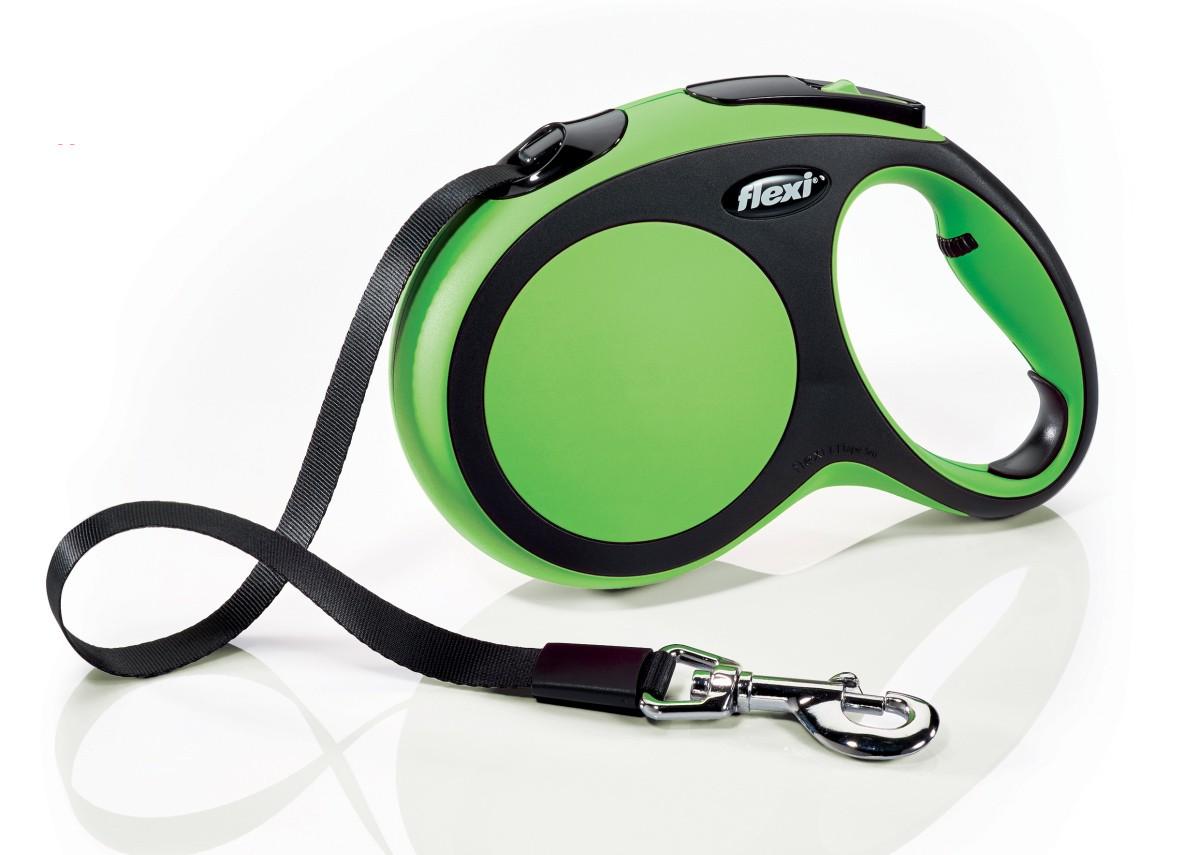 Flexi New Comfort 5m  Verde  T.L  Cinta   <60kg