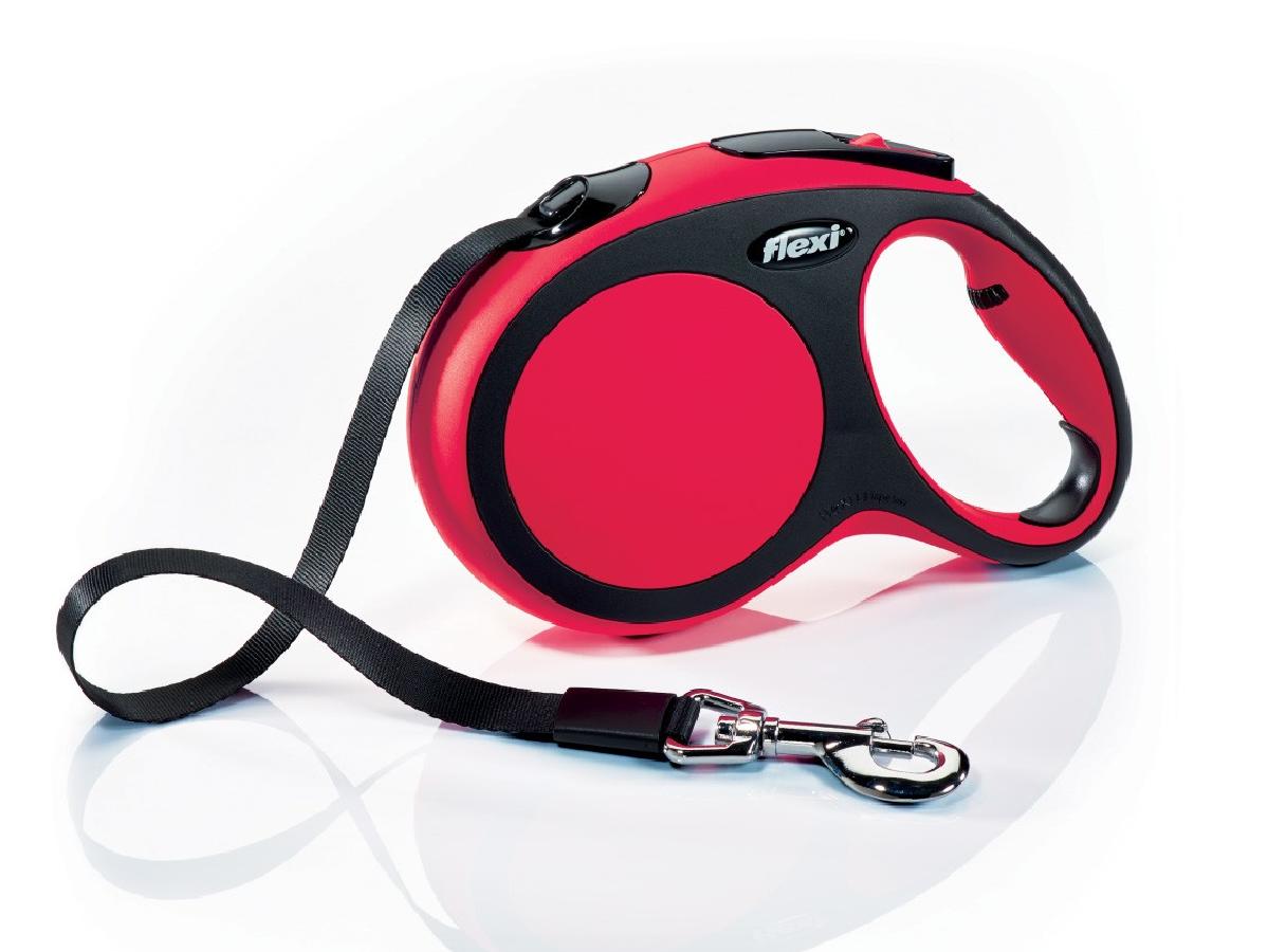 Flexi New Comfort 5m  Rojo  T.L  Cinta   <60kg