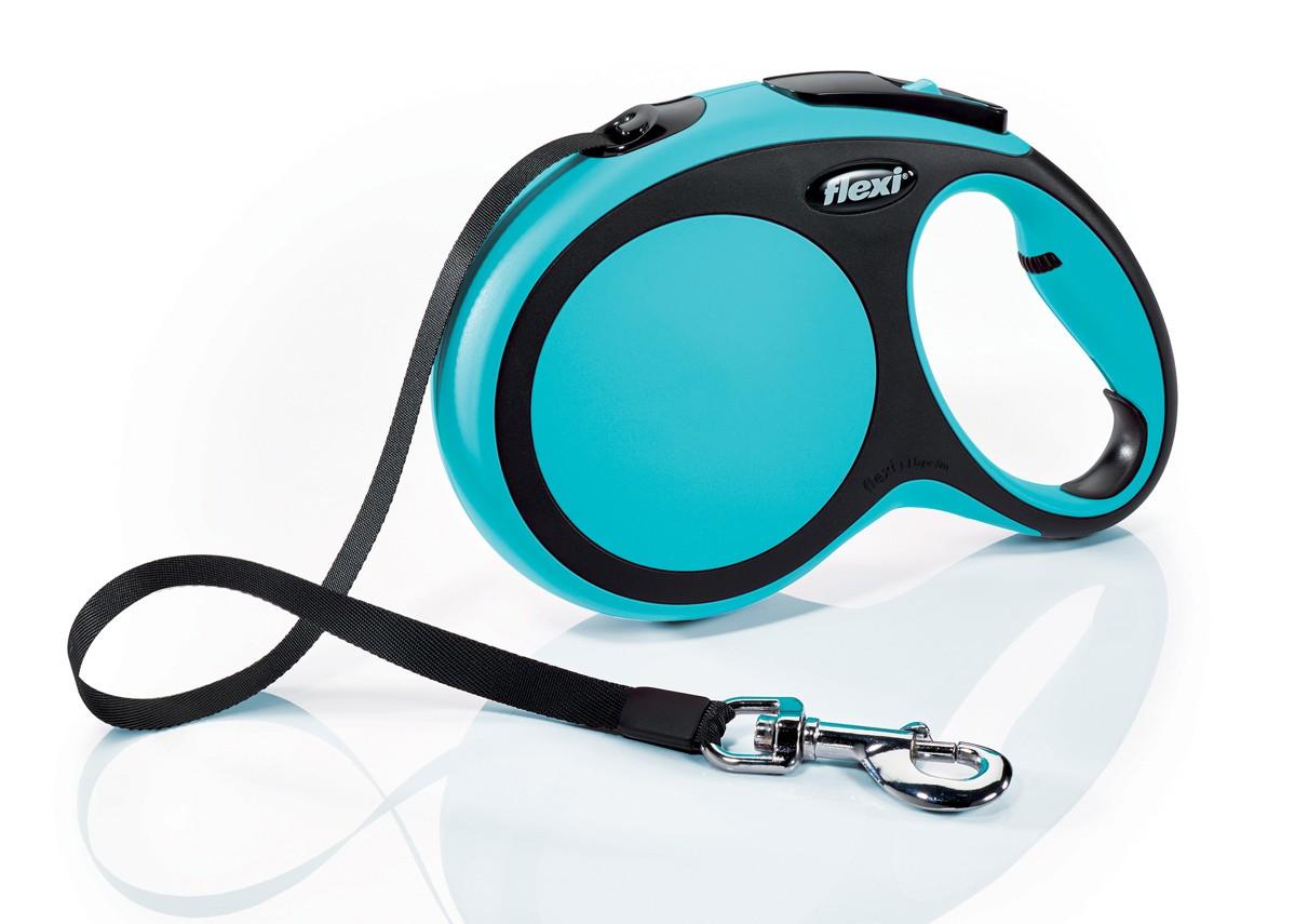 Flexi New Comfort 8m  Azul  T.L  Cinta   <50kg