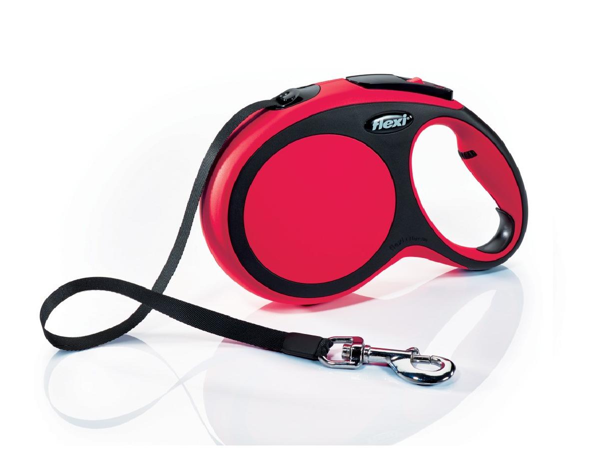 Flexi New Comfort 8m  Rojo  T.L  Cinta   <50kg
