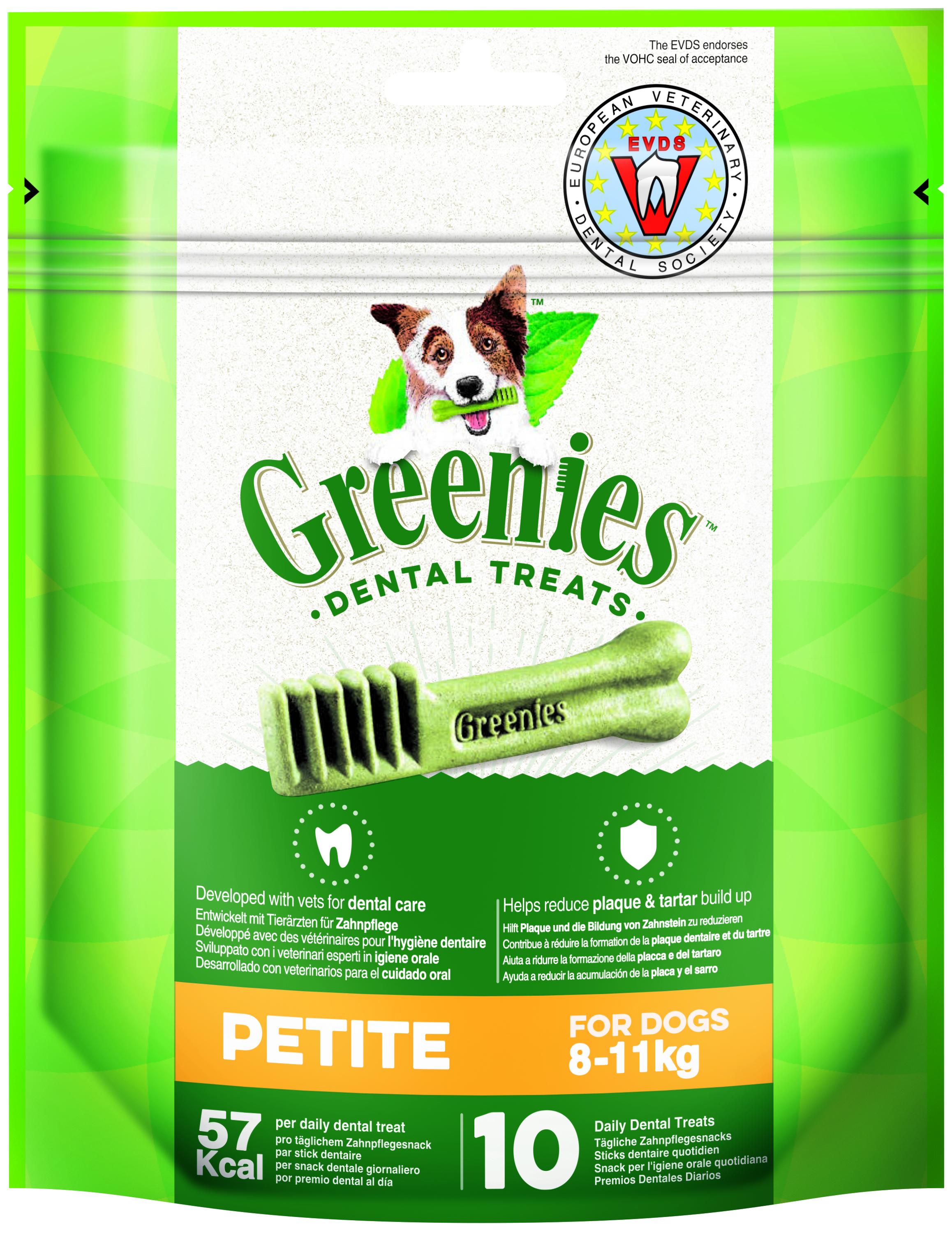 Greenies PETITE 170gr  (10u/bossa)