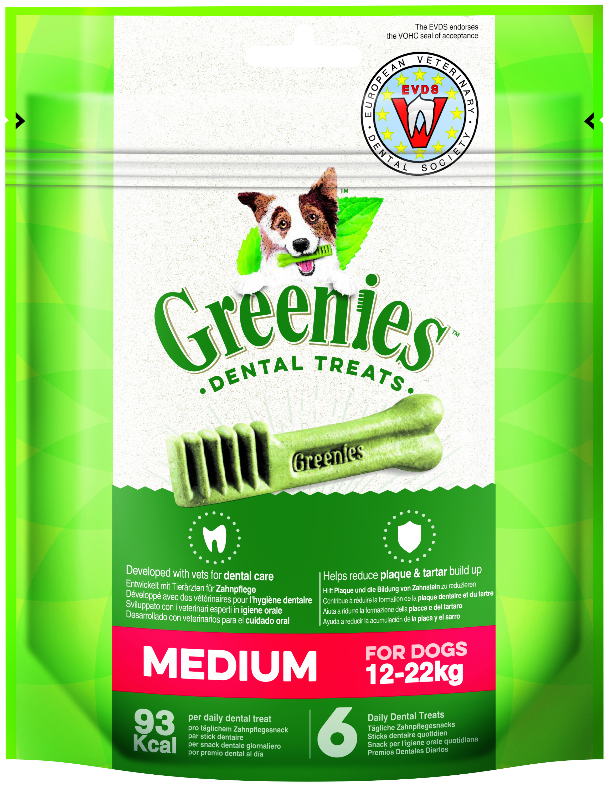 Greenies REGULAR  170gr  (6u/bossa)