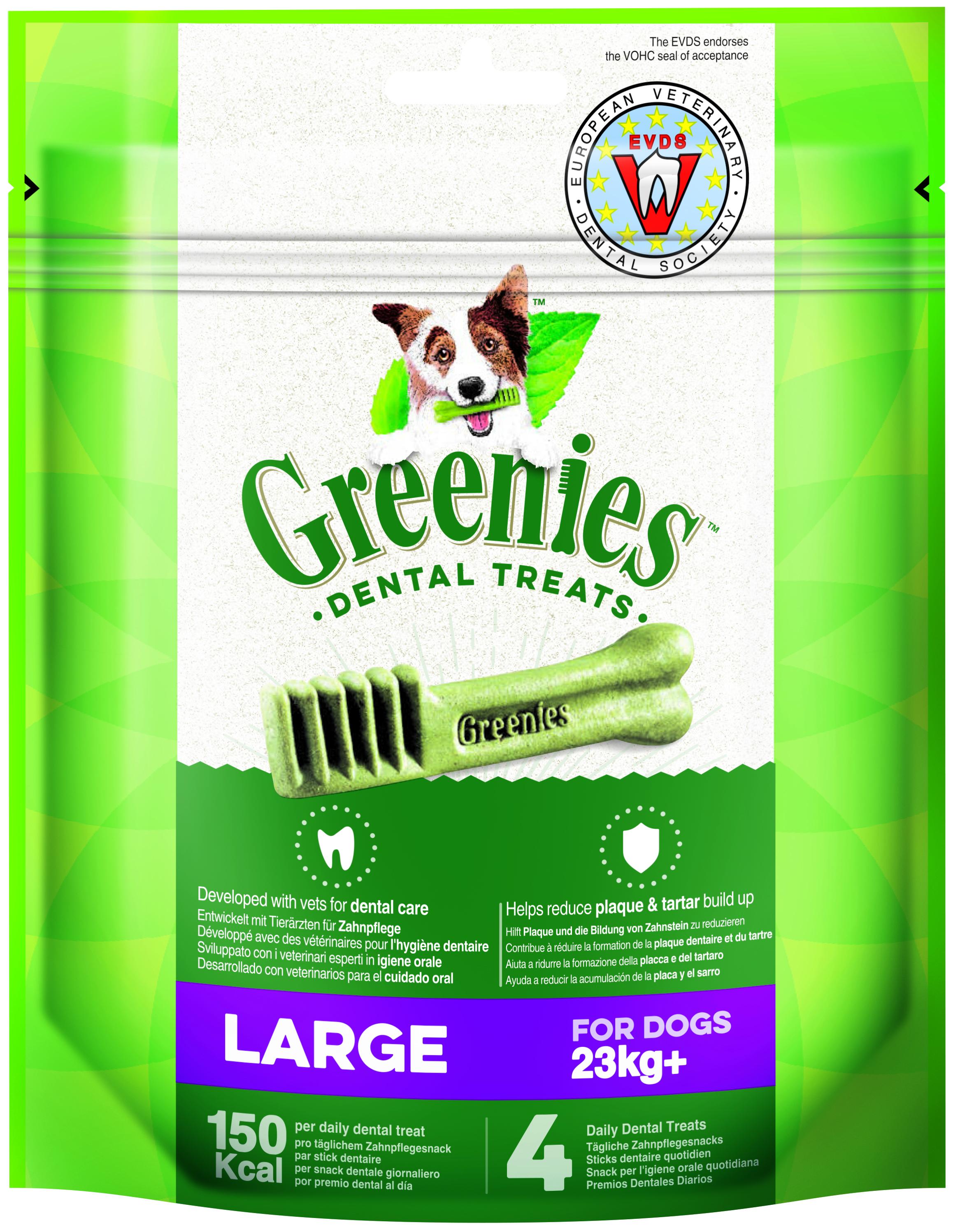 Greenies LARGE  170gr  (4u/bossa)