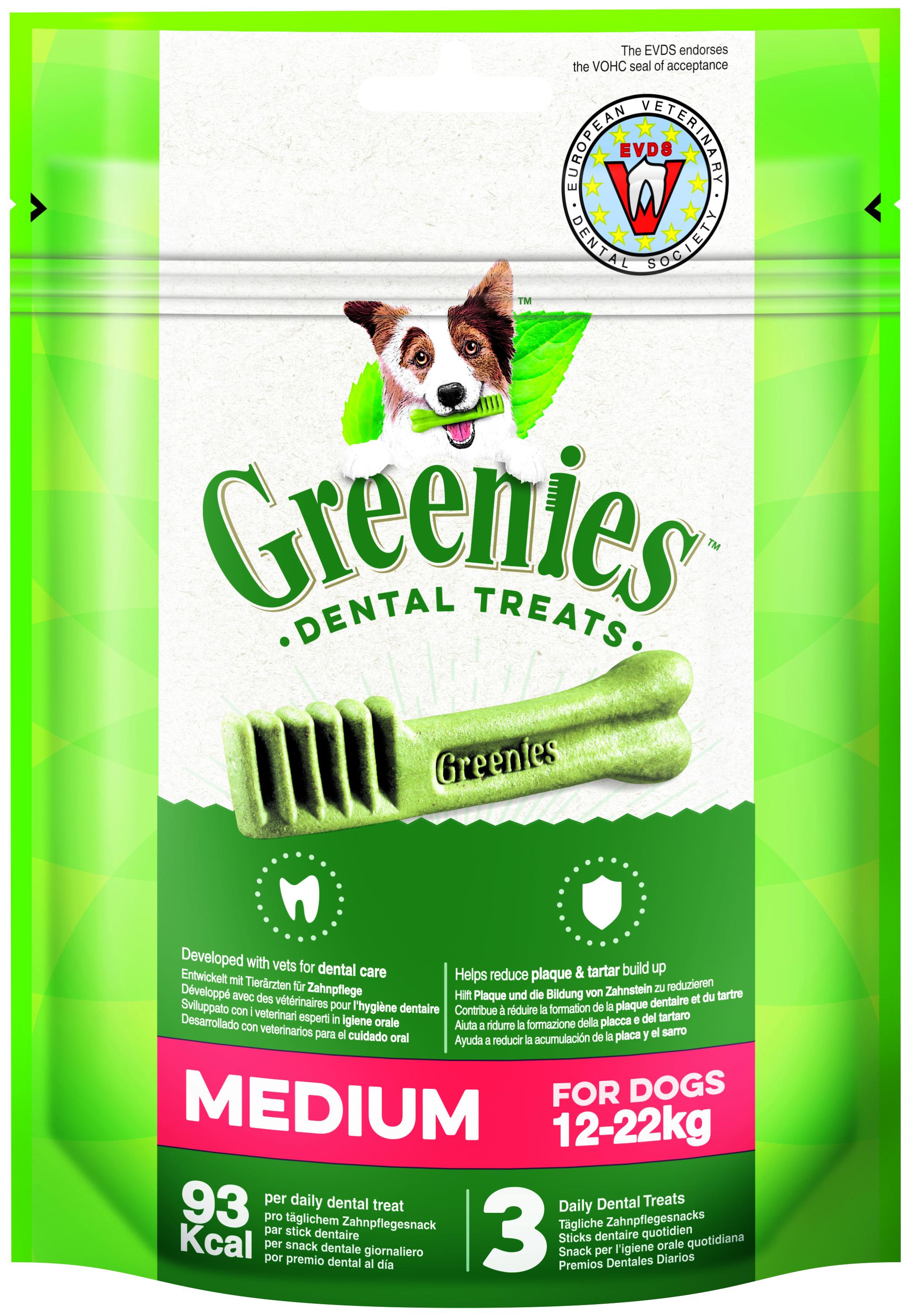 Greenies MEDIUM 85gr (3u/bossa)