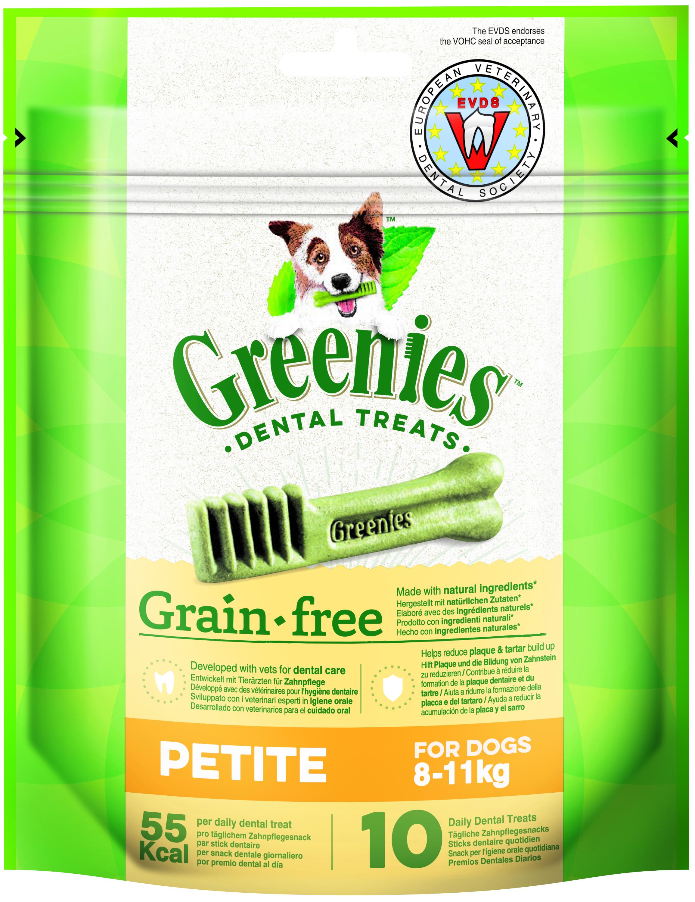 Greenies GRAIN FREE PETITE 170g