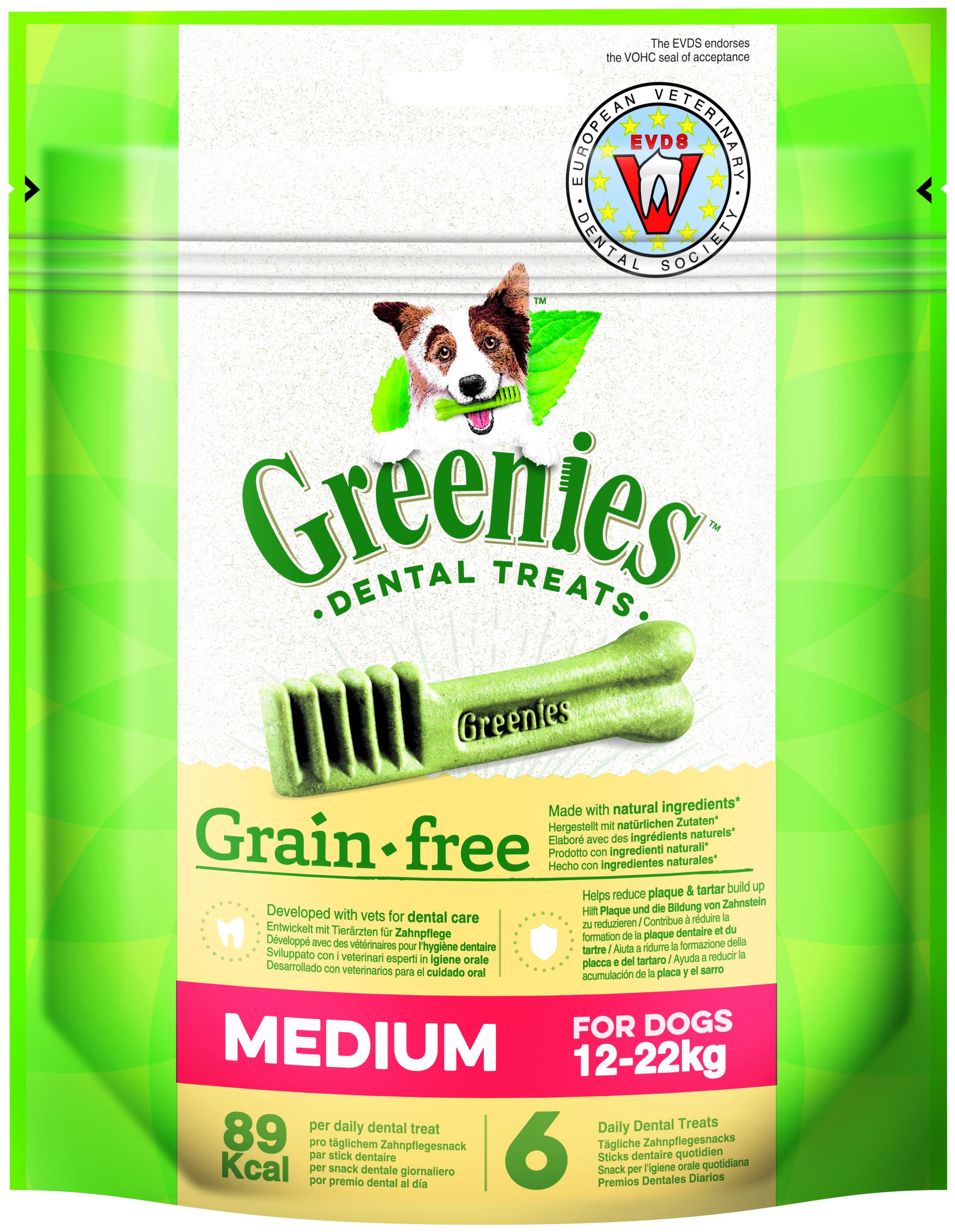 Greenies GRAIN FREE MEDIUM 170g