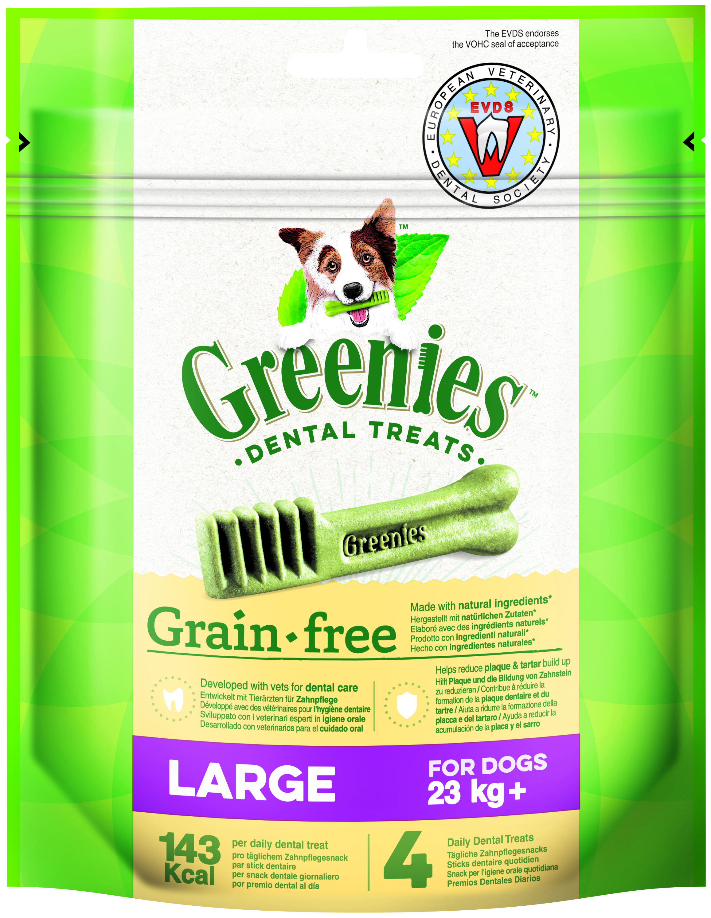 Greenies GRAIN FREE LARGE 170g