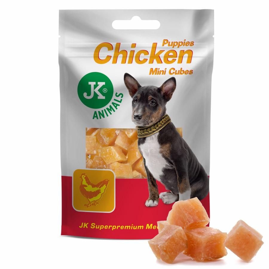 Meat Snack Puppy Chicken Mini Cubes 50g