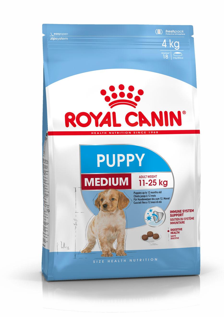 Medium Puppy 4 Kg.