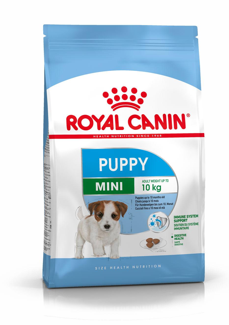 Mini Puppy 8 Kg.