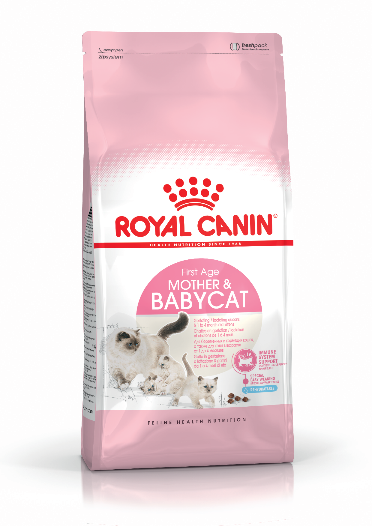Mother & Babycat 400 g.
