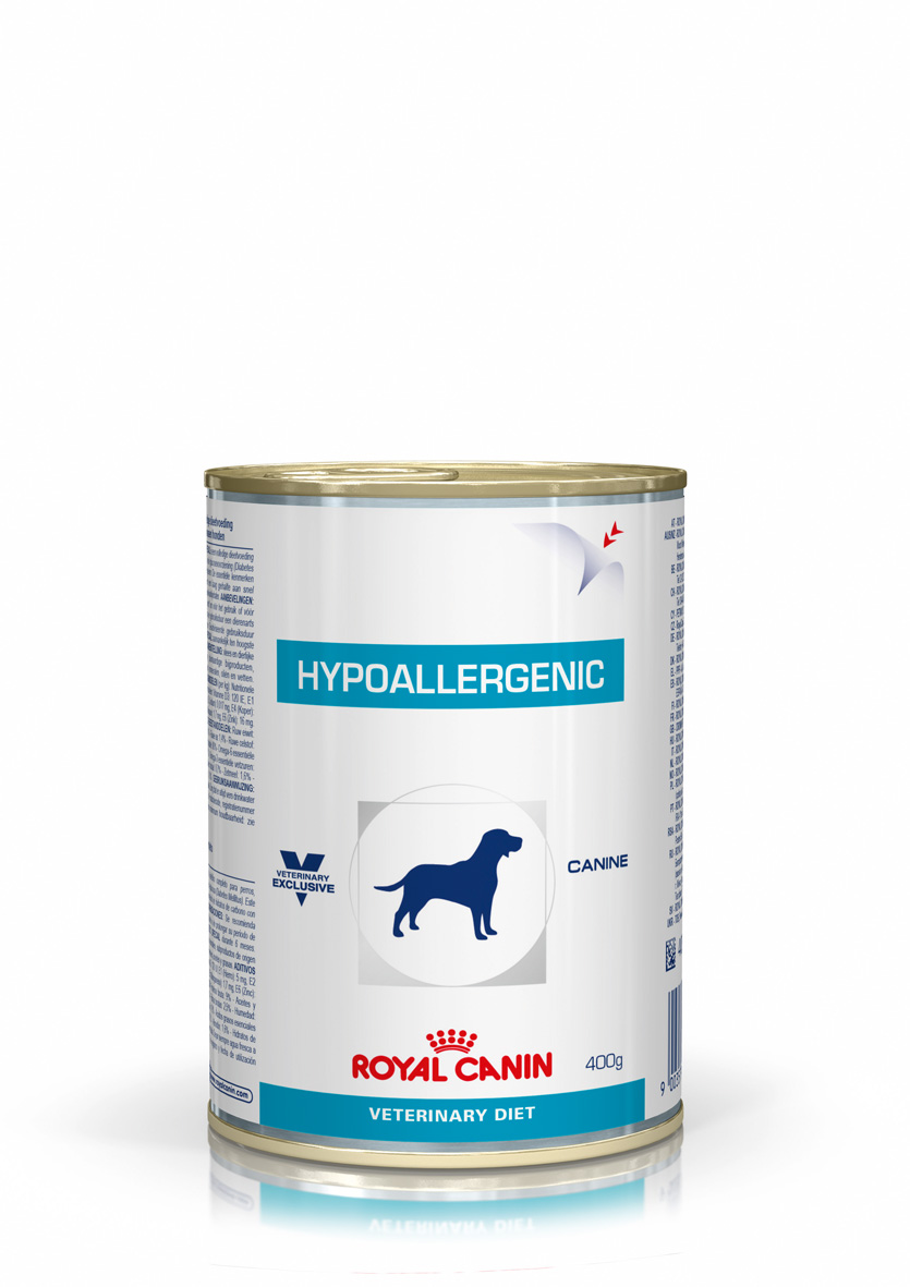 Wet Hypoallergenic 400 g. canine
