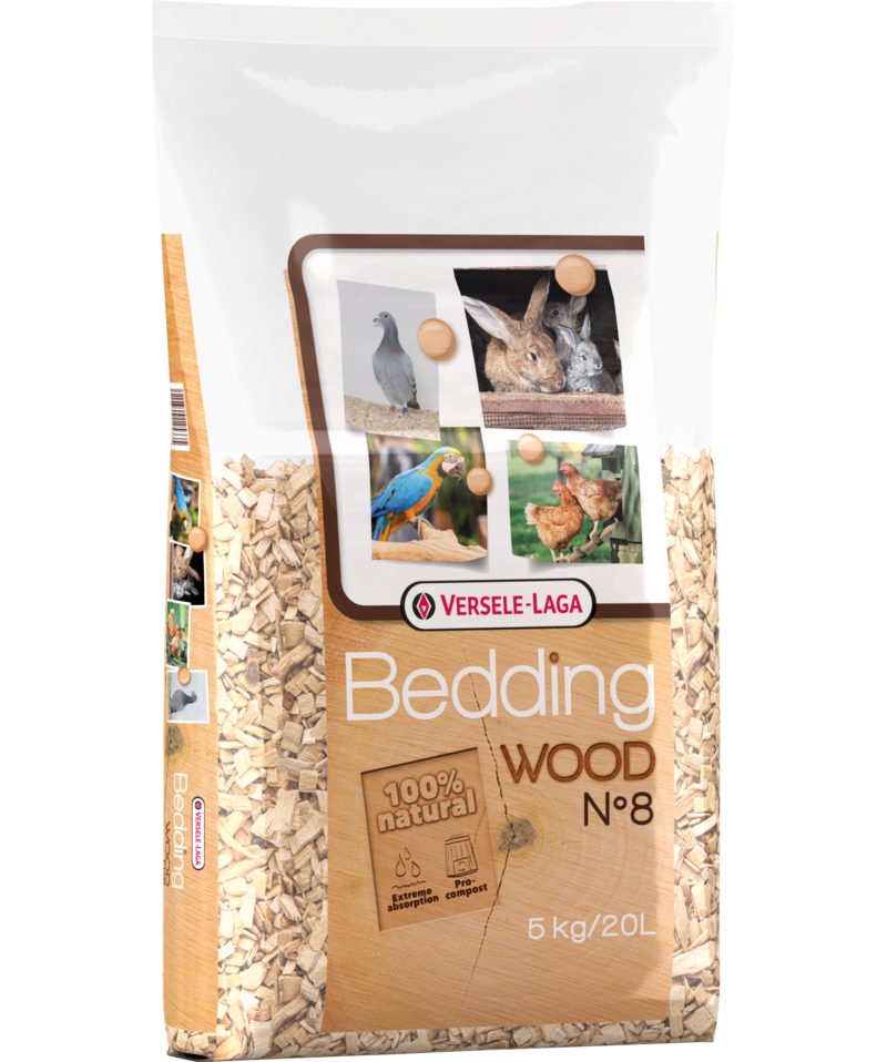Wood Bedding-haya fina n° 8 20 l 5 kg