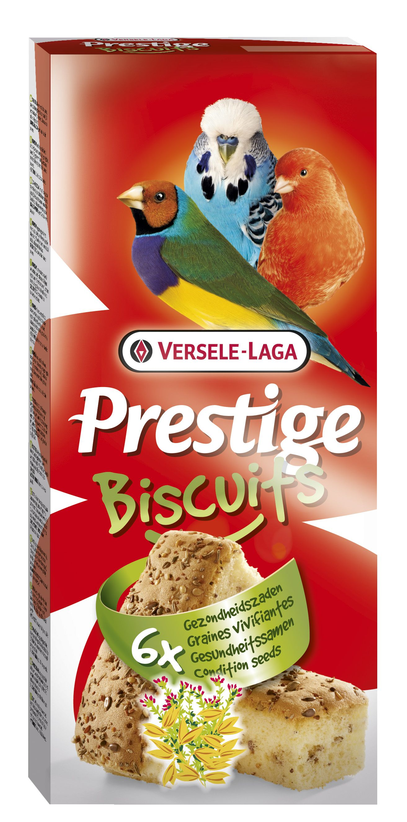 Biscuits pájaros salud PREMIUM  6u.
