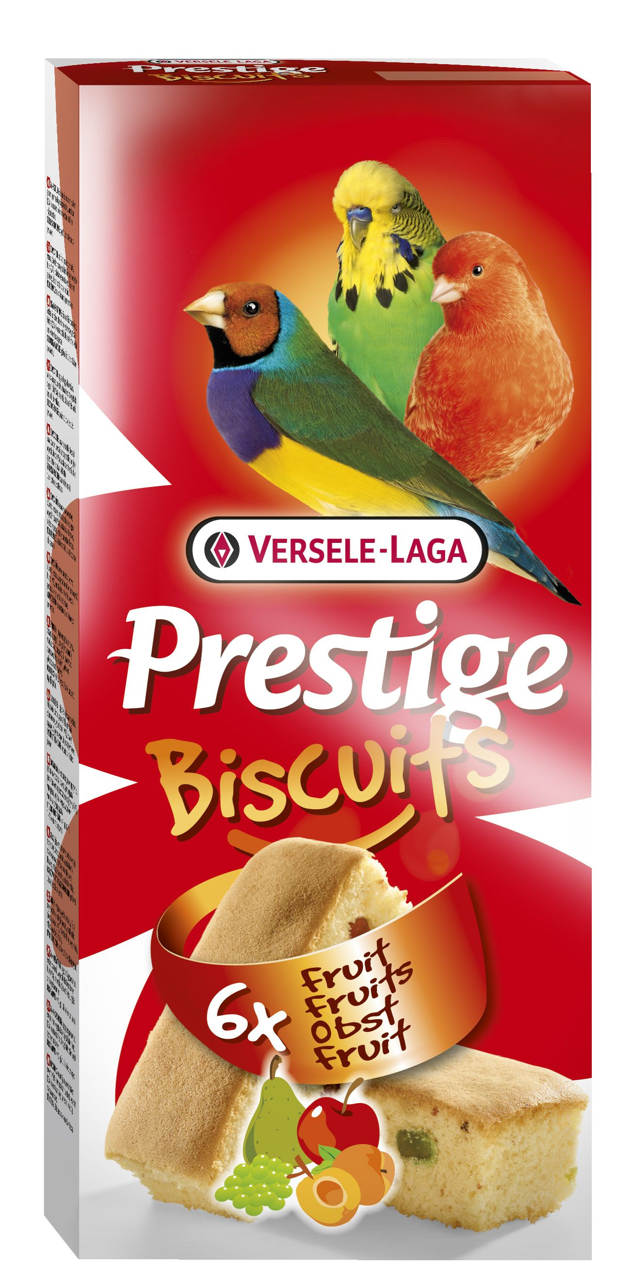 Biscuits pájaros fruta PREMIUM 6u.