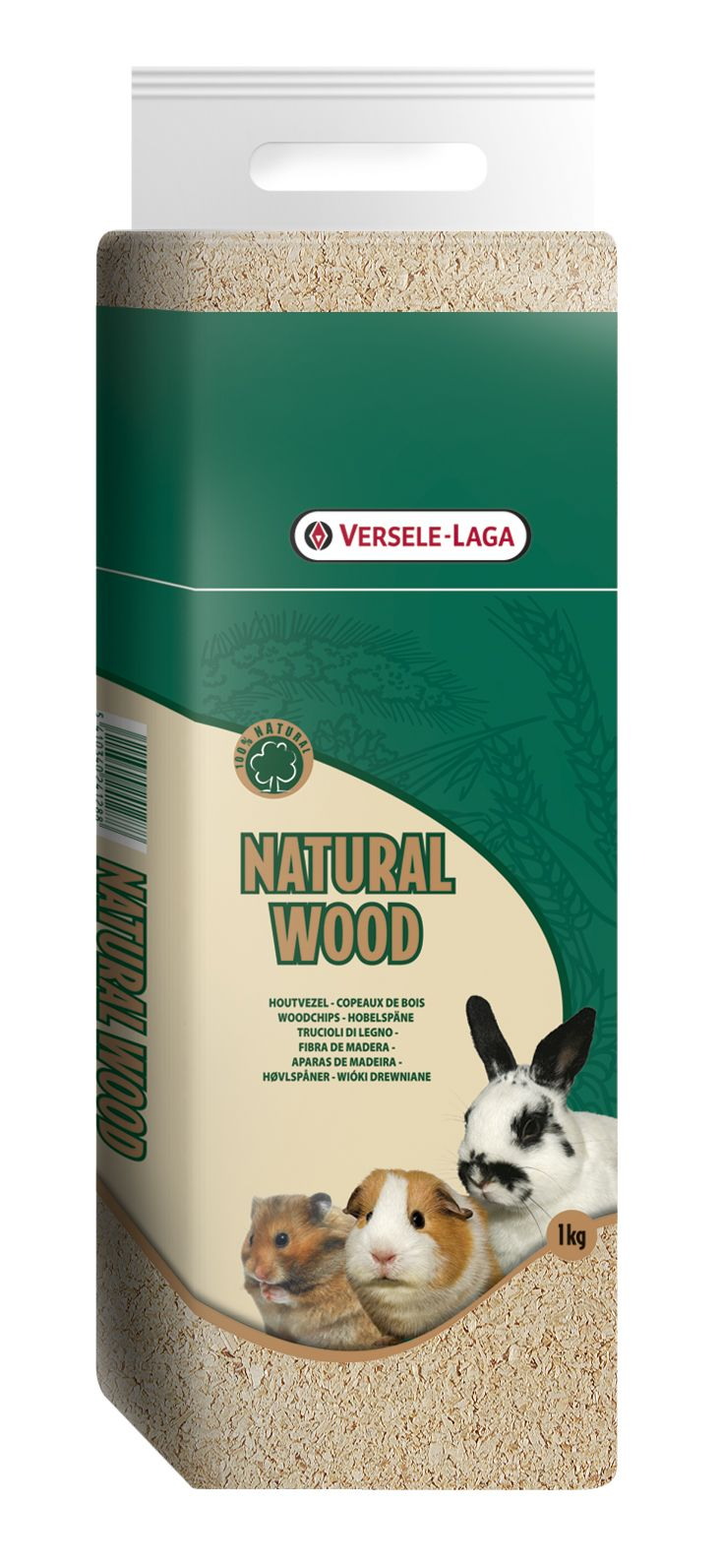 Prespack 1kg viruta (natural wood)