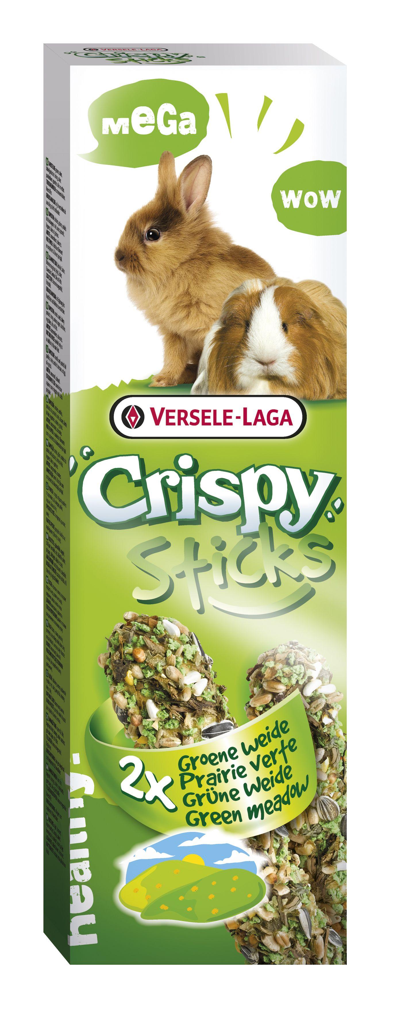 Stick Crispy Hierba de Prado  (Conejo/Cobaya) 2un.