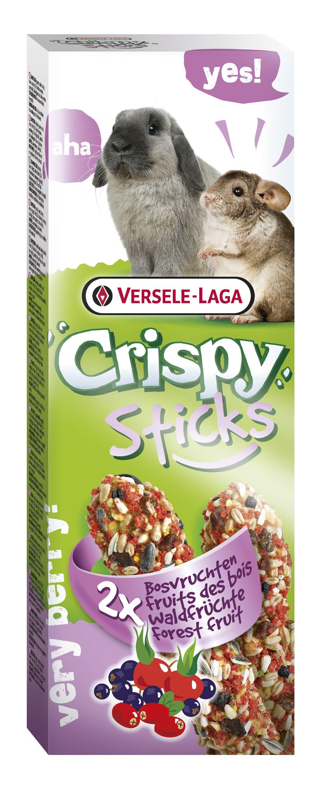 Stick Crispy Frutas del bosque (Conejo/Chinchilla)