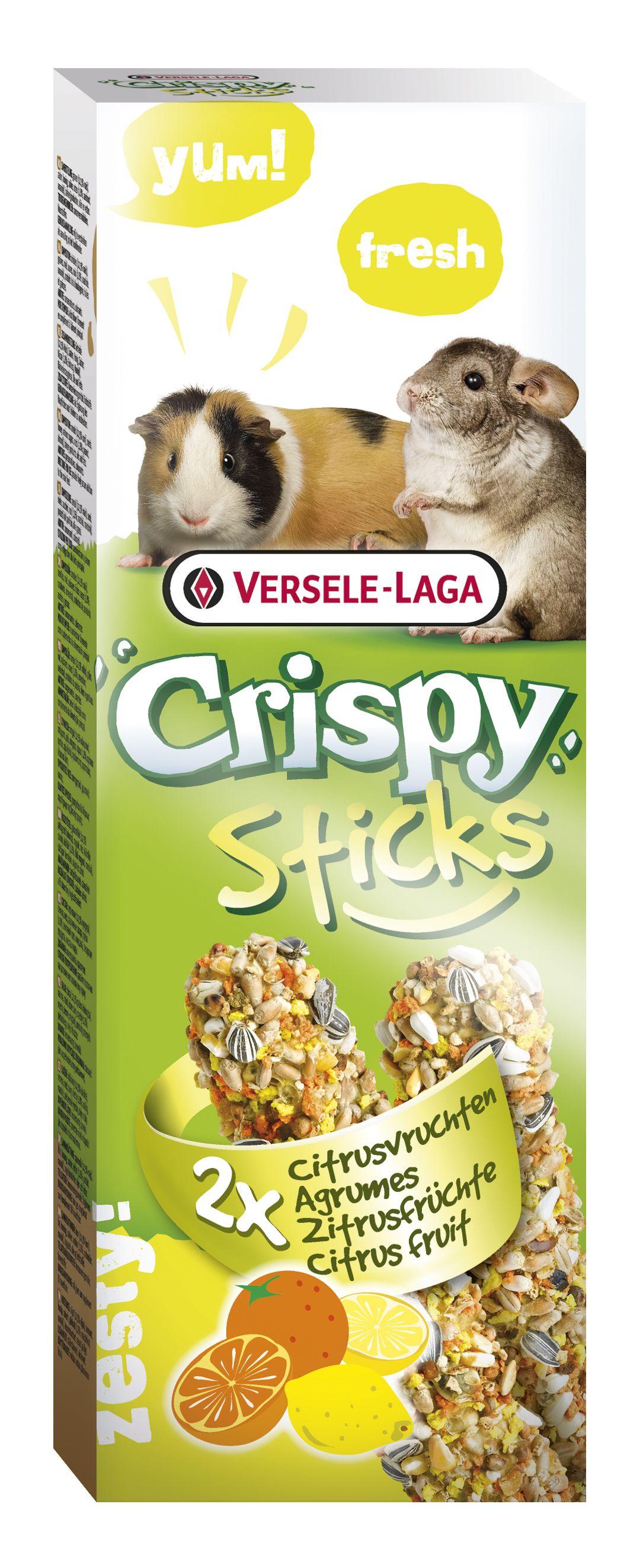 Stick Crispy Frutos Citricos (Cobaya-Chinchilla)