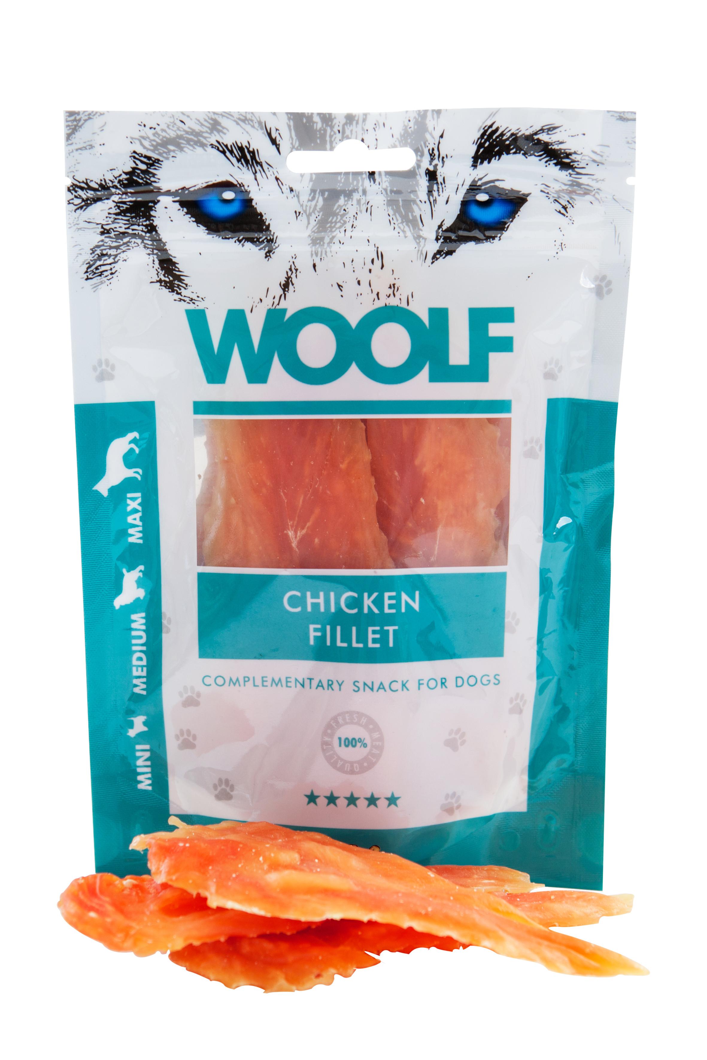 WOOLF Filetes de Pollo 100g