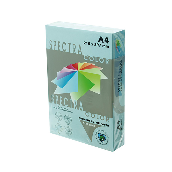 Papel color A4 80gr Azul Pastel (500h)