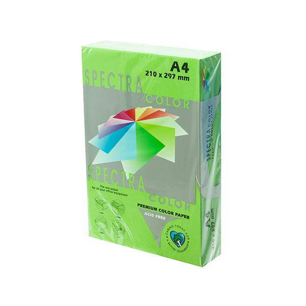 Papel color A4 80gr Verde Manzana (500h)