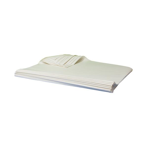 Papel seda blanco Resma 500 50x76cm.