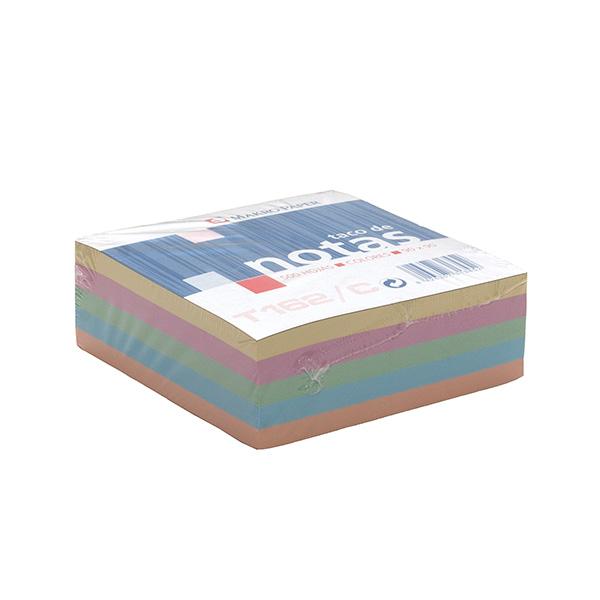 Tacos de notas Makro Paper de colores 100x100 (500h.)