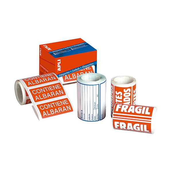 Etiquetas de envío Apli 82x109 (rollo 200 eti)