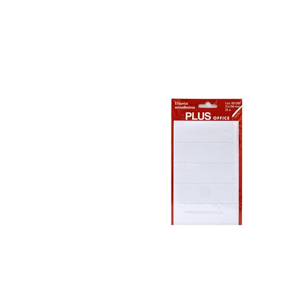 Etiquetas adhesivas Plus Office 31x100 Sobre 5h